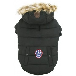 Cappotto Impermeabile Canada Pooch North Pole Parka Black