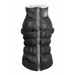 HD Crown Puffer Vest Black
