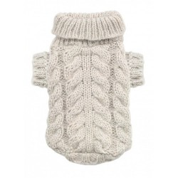 Angora Cable Knit Sand
