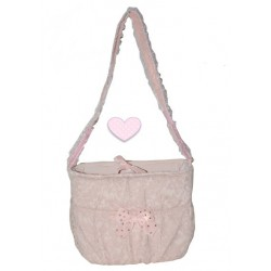 Pretty Peach Lace Bag