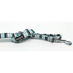 Dogue Guinzaglio Striped Lead Blue/Black