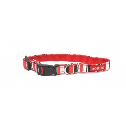 Dogue Collare Striped Collar Red/Black