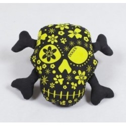 Dogue gioco toy Skull Black/Lime