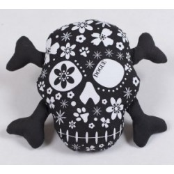 Dogue gioco toy Skull Black/White
