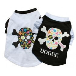 Dogue T-Shirt Skull Black