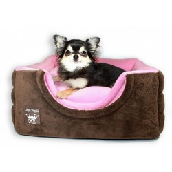 Pink/Brown Pop Up Bed