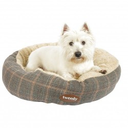 Tweedy™ Luxury Donut Bed