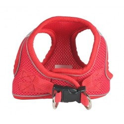 Sport Mesh Red EZ Reflective Harness Vest