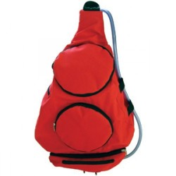 Mighty Pack 'n Go Dog Pack Red