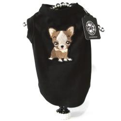 Maglietta Dog City Nera