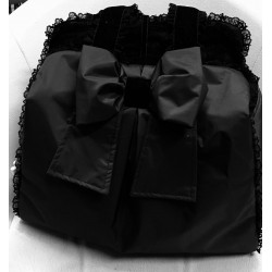 Mon Amour De Luxe Bag Black Impermeabile