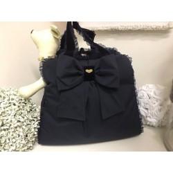 Mon Amour De Luxe Bag Dark Blu Impermeabile