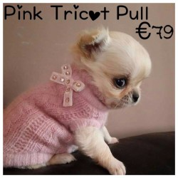 Pink Tricot Pull