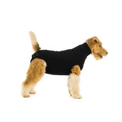 Tuta SUITICAL Recovery Suit for Dogs Black