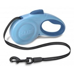 HALTI Walking Retractable Lead Black - Guinzaglio Retraibile