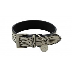 Dogue Collare Pony Hair Collar Zebra
