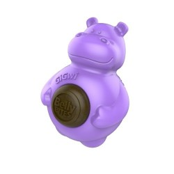 Gioco GiGwi Belly Bites Hippo with Replaceble treats