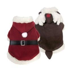 Costume Babbo Natale Reversible Santa Suit