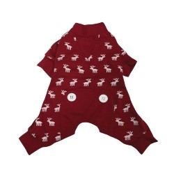 Pigiama Moose PJ Red