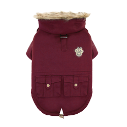 Cappotto Impermeabile Alaskan Army Parka Army Maroon