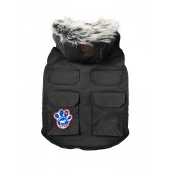 Cappotto Impermeabile Everest Explorer Jacket Black