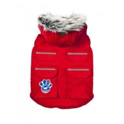 Cappotto Impermeabile Everest Explorer Jacket Red Reflective