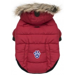 Cappotto Impermeabile Canada Pooch North Pole Parka Red