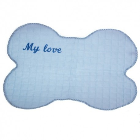 MICHI Tovaglietta Azzurra My Love