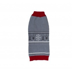 FESTIVE KNITTED JUMPER