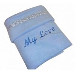 MICHI Coperta Azzurra My Love