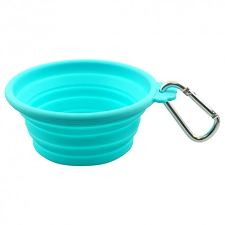 Ciotola Collapsible Travel Bowl Teal