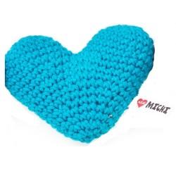 Gioco Crochet Cuore Blu