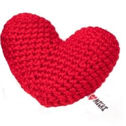 Gioco Crochet Cuore Rosso