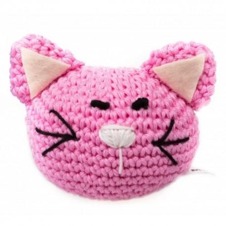 Gioco Crochet Gattino Rosa