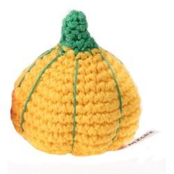 Gioco Crochet Zucca Gialla