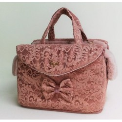 Lace Passenger Bag Rigid Ancient Pink