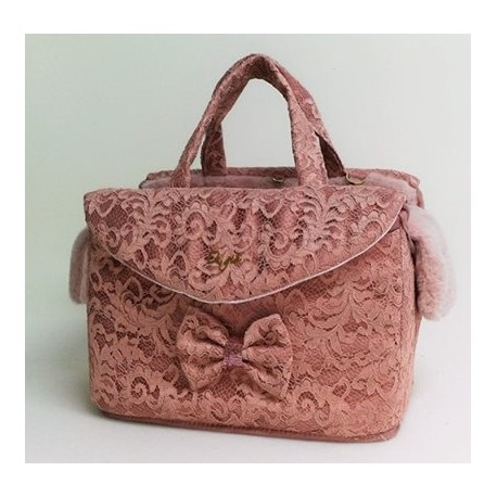 Antique Refined Pink Lace