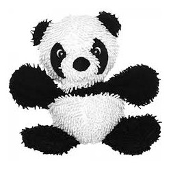 Tuffy Mighty Microfiber Ball Medium Panda
