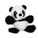 Tuffy Mighty Microfiber Ball Medium Panda