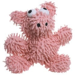 Tuffy Mighty Microfiber Ball Medium Pig