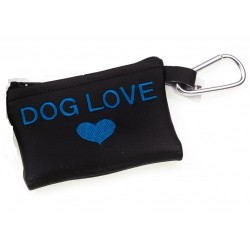 MICHI Portasacchetti Dog Love Blue