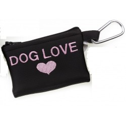 MICHI Portasacchetti Dog Love Pink