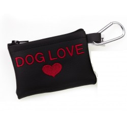 MICHI Portasacchetti Dog Love Red
