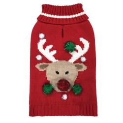 Maglia Ugly X'Mas Sweater Reindeer