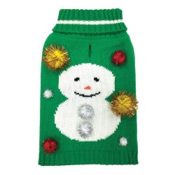 Maglia Ugly X'Mas Sweater Snowman