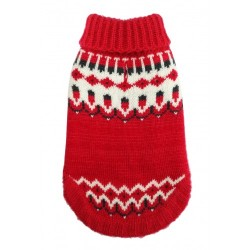 Icelandic Sweater Red