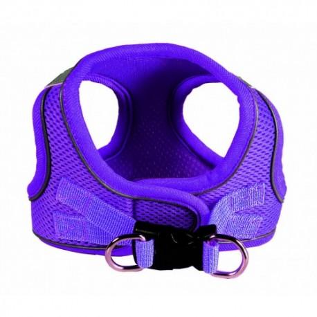 Sport Mesh Purple EZ Reflective Harness Vest