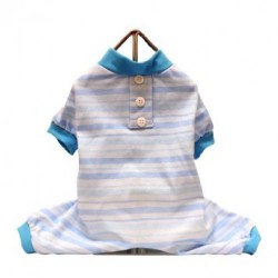 Candy Stripe PJ Blue
