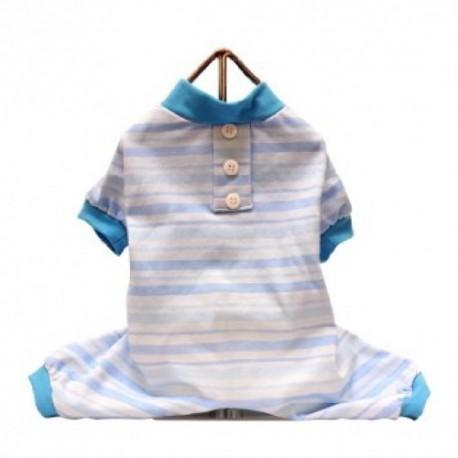 Candy Stripe PJ Blue