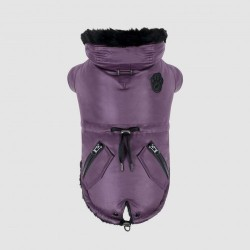 Cappotto Impermeabile Canada Pooch Urban Wax Parka Purple